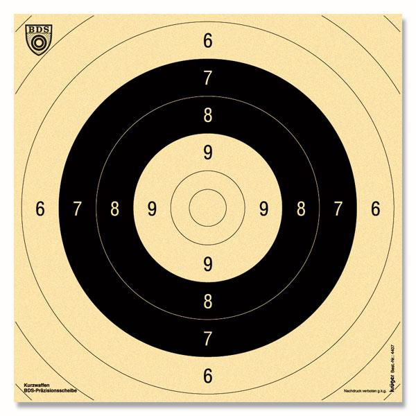 Krüger-Druck Pistole 25m -B D S- Spiegel