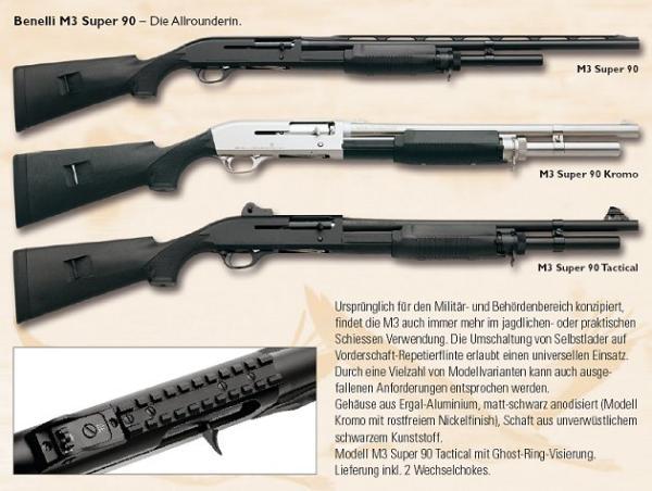 BENELLI Mod. M3 Super 90 Jagd