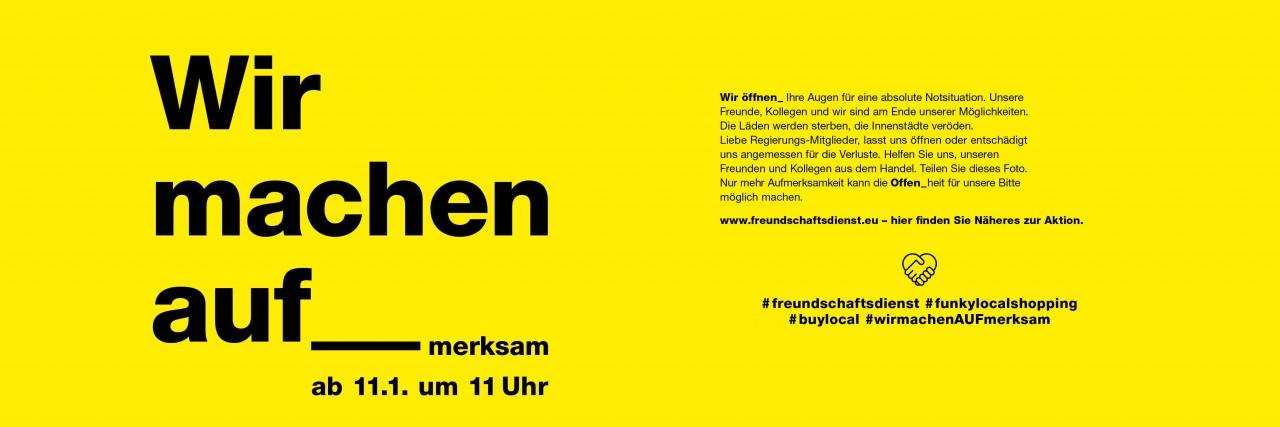 Freundschaftsdienst-gelb
