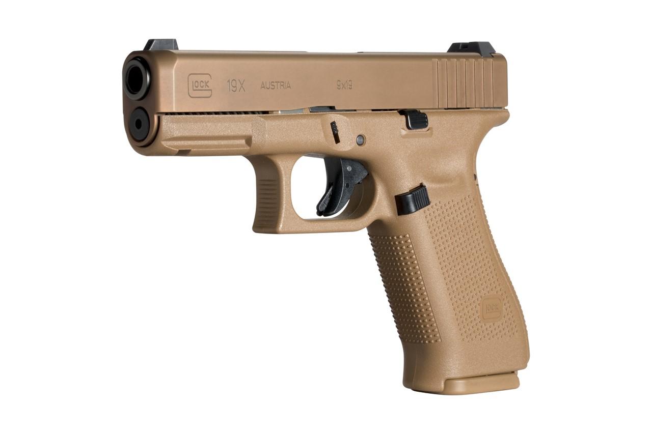 GLOCK Mod. 19X coyote 9mmLuger Pistole   Triebel Onlineshop