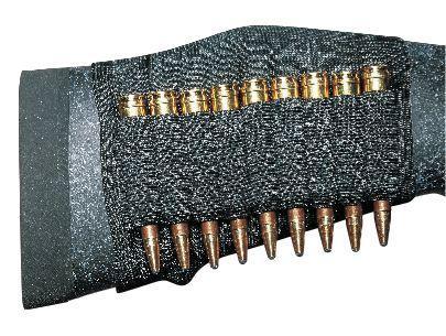 UNCLE MIKE's Schafttasche f.9 Kugelpatronen