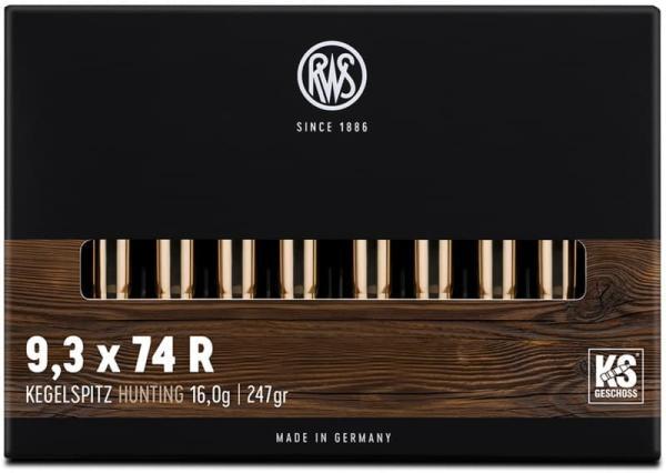 RWS 9,3X74R KS