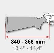 BLASER Schaft: kürzer als 370mm