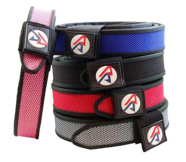 DoubleAlphaAcademy Premium Belt Belt 4cm BLACK