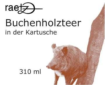 Diverse Buchenholzteer