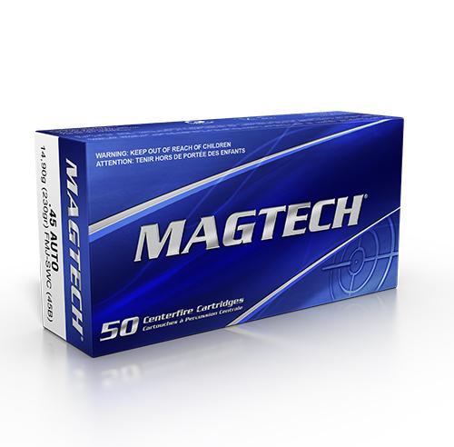 MAGTECH .45 ACP SWC-VM 230 grs #45B
