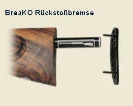 KRIEGHOFF Option: Rückstoßbremse BreaKO