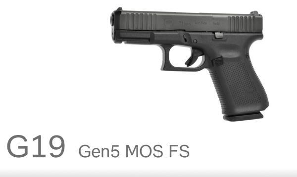 GLOCK Mod. 19 Gen5 MOS
