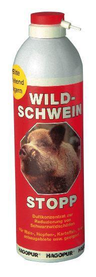 Diverse Wildschwein-Stopp