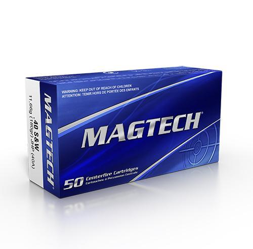 MAGTECH .40 S&W JHP 180 grs