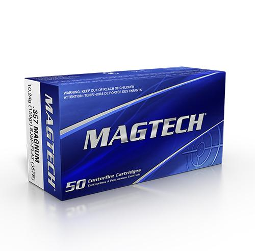 MAGTECH .357 Magnum TM 158 grs #357E