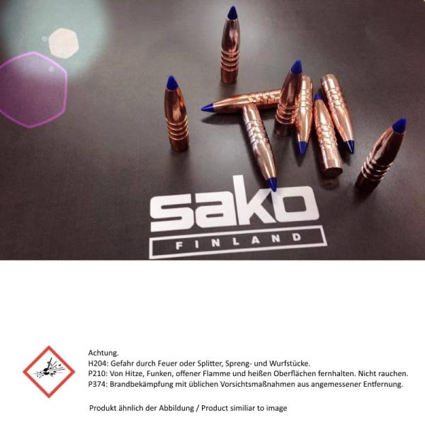SAKO .243 Win. TM Gamehead RANGE