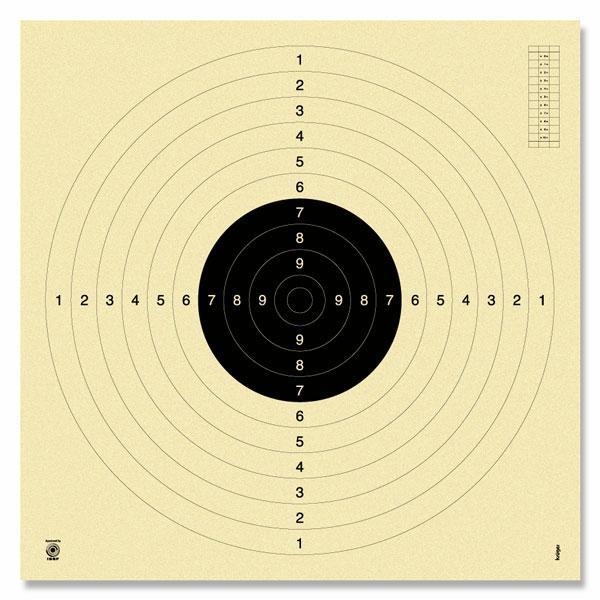 Krüger-Druck Pistole 25m/KK 50m m.Schlitz