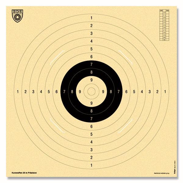 Krüger-Druck Pistole 25m -B D S-  #9