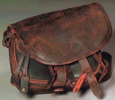 Diverse Jagdtasche Antikleder