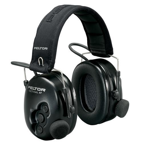 PELTOR Tactical XP -schwarz/faltbar
