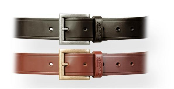 SICKINGER Holster Belt 3,5cm braun